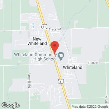 Map of Taco Bell at 211 N US 31, New Whiteland, IN 46184