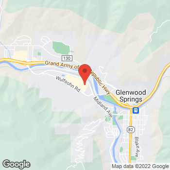Map of Bed Bath & Beyond at 115 East Meadows Drive, Glenwood Springs, CO 81601
