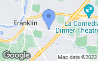 Map of Franklin, OH