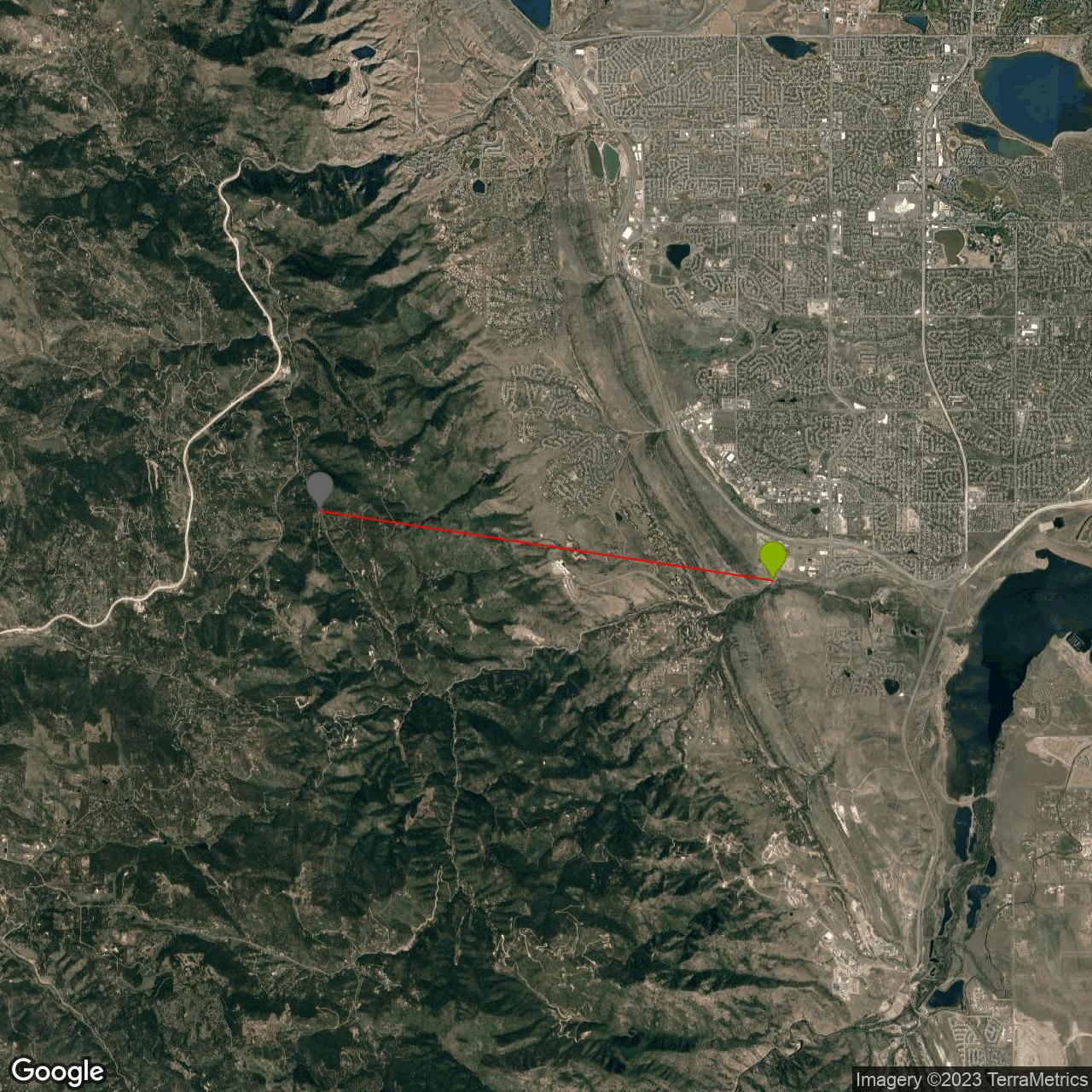 Deer Creek Canyon Road Bike Climb - PJAMM Cycling