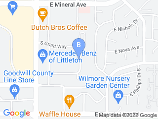 Map of Camp Bow Wow Dog Boarding Littleton Dog Boarding options in Littleton | Boarding