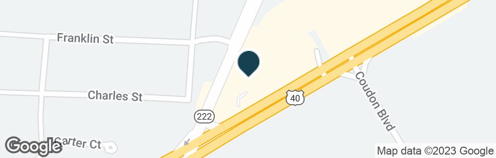 Google Map of5319 PULASKI HWY