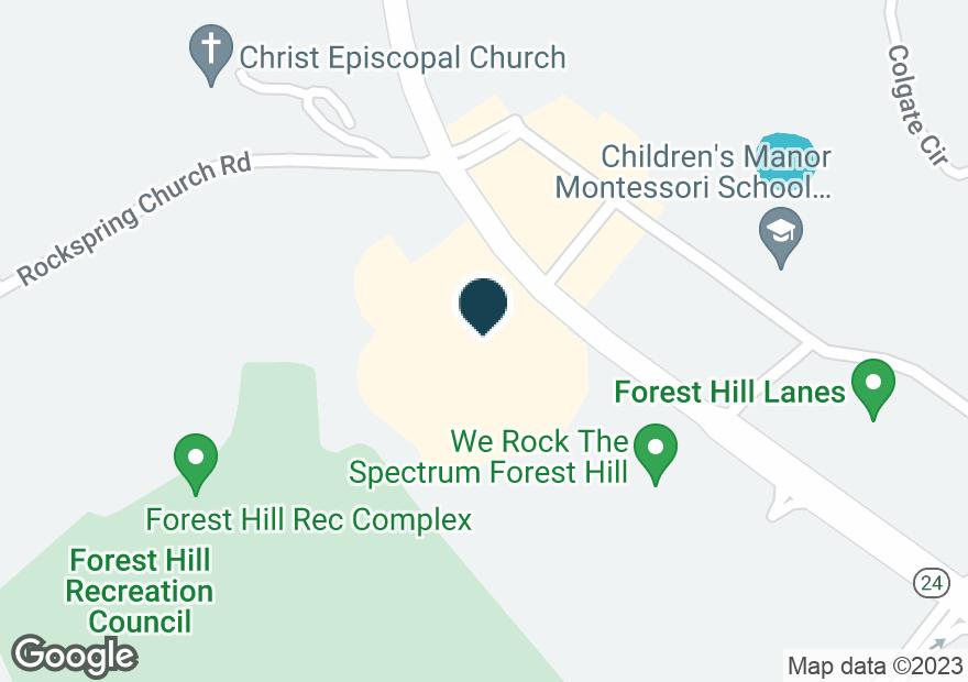 Google Map of2016 ROCK SPRING RD