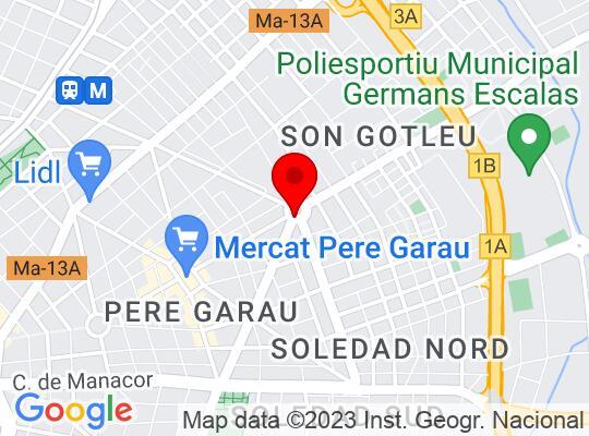Google Map of Palma De Mallorca