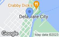 Map of Delaware City, DE