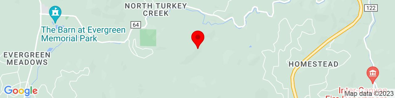 Google Map of 39.5800298, -105.2662931
