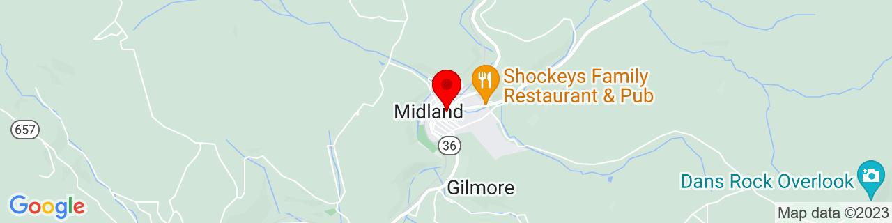 Google Map of 39.5900889, -78.9497471