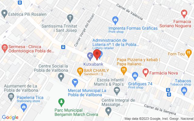 Administración nº1 de Pobla de Vallbona (LA)