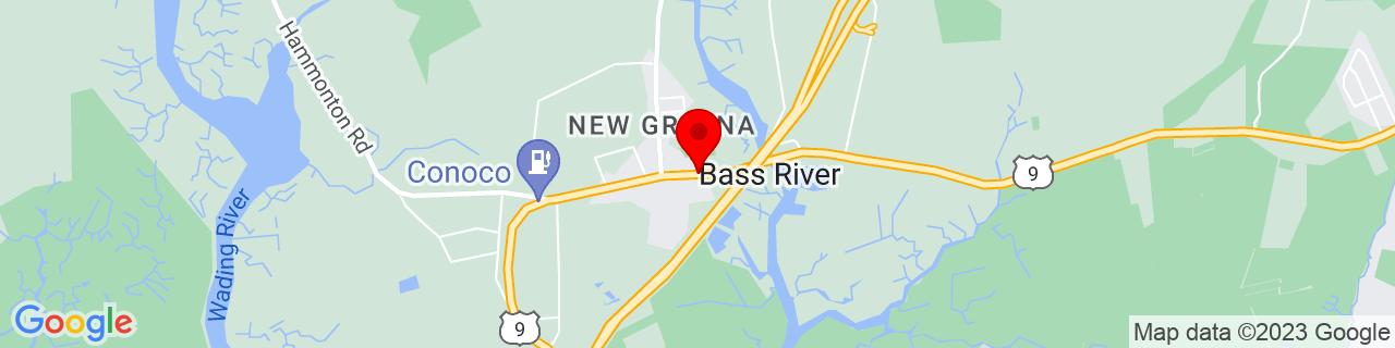 Google Map of 39.5925678, -74.4482575