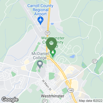 Map of Terminix at 698 Corporate Ctr Ct, Westminster, MD 21157