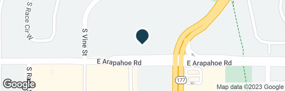 Google Map of2281 E ARAPAHOE RD