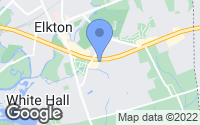 Map of Elkton, MD