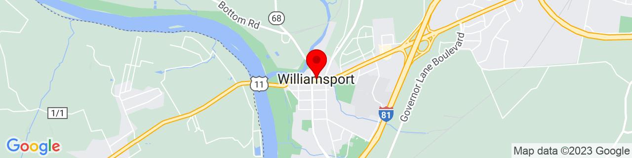 Google Map of 39.60065, -77.82055