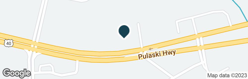 Google Map of2719 PULASKI HWY