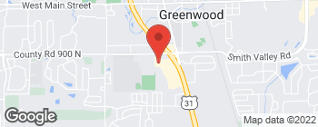 Map of 730 Executive Park Dr in Greenwood