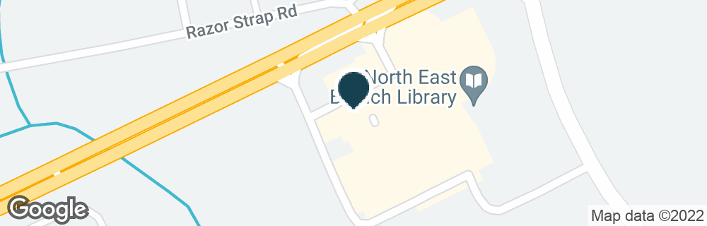 Google Map of2556 PULASKI HWY