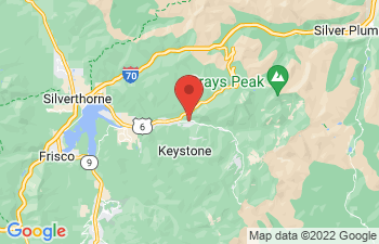 Map of Keystone