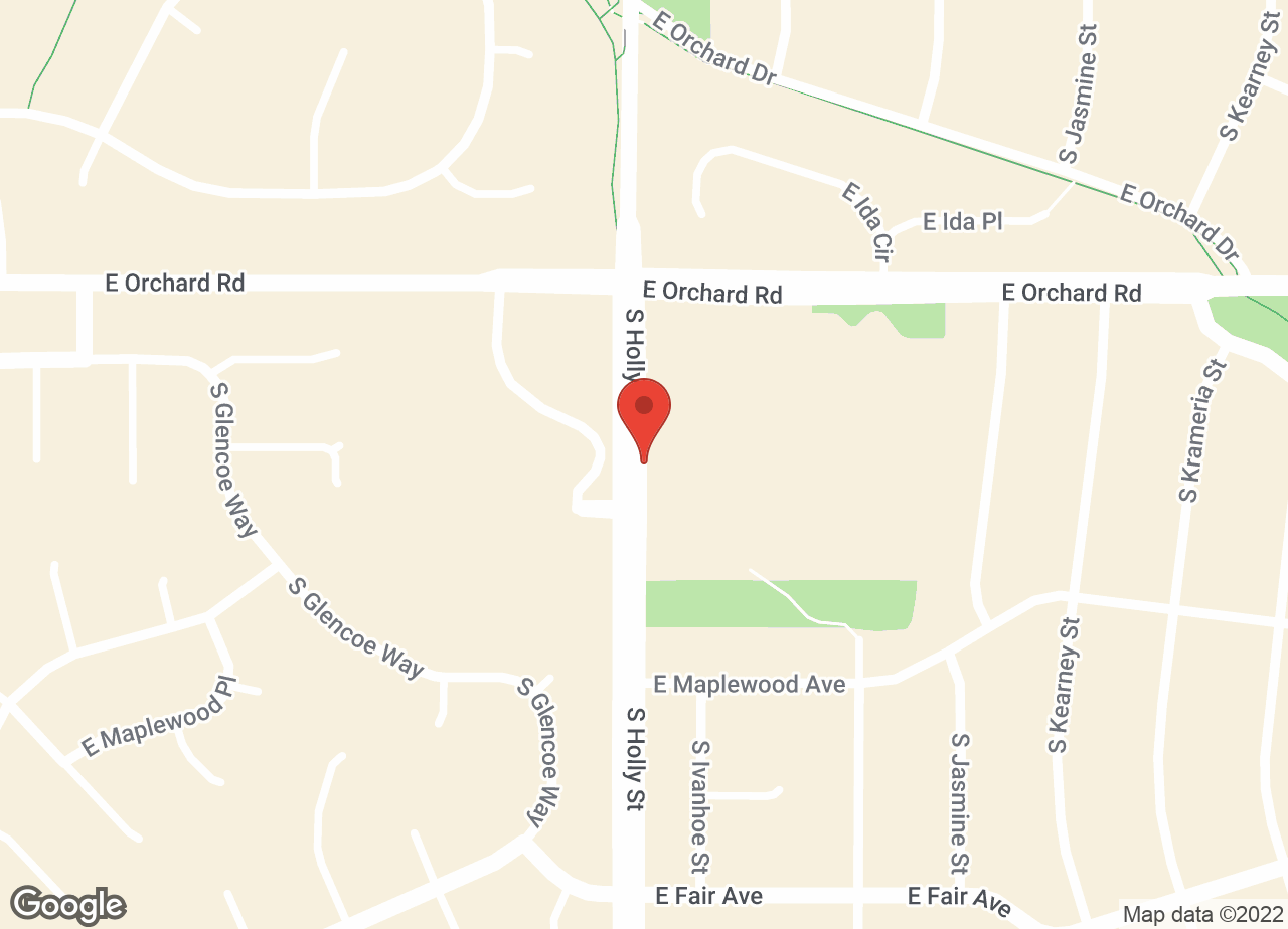 Google Map of VCA Orchard Animal Hospital