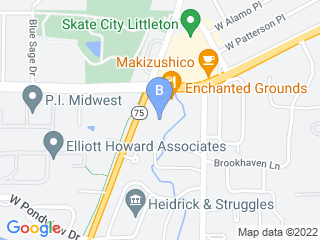 Map of A Paw Spa Dog Boarding options in Littleton | Boarding