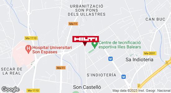 Obtener indicaciones para Tienda Hilti-Palma de Mallorca - Palma de Mallorca