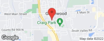 Map of 378 S Madison Ave in Greenwood
