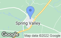 Map of Spring Valley, OH