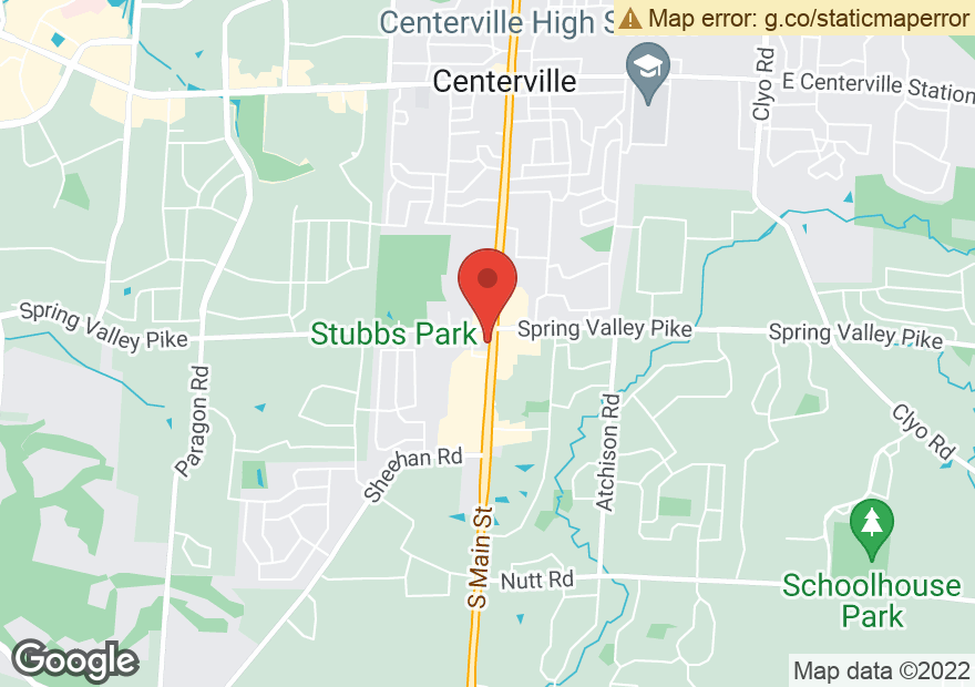 Google Map of 911 S MAIN ST