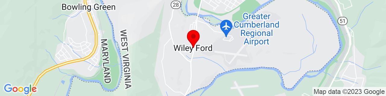 Google Map of 39.6145328, -78.7750188