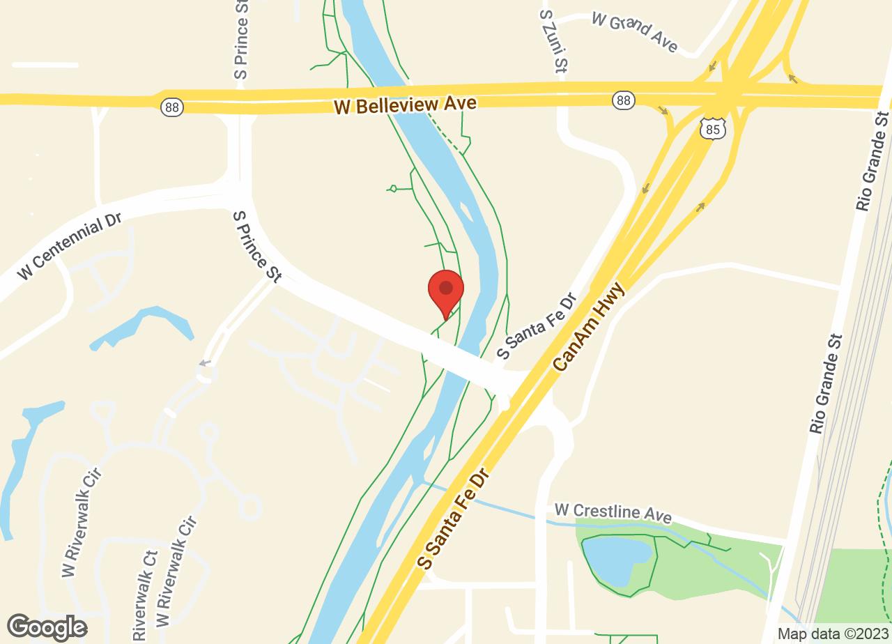 Google Map of VCA Littleton Animal Hospital