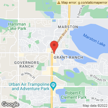 Map of Active Eyes at 5132 South Wadsworth Blvd, Littleton, CO 80123