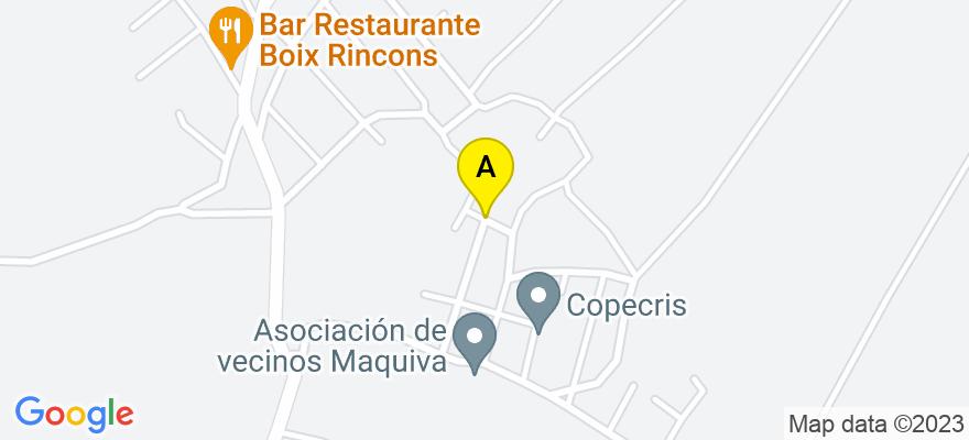 situacion en el mapa de . Direccion: CALLE MONTICHELVO 9, 46006 Valencia. Valencia