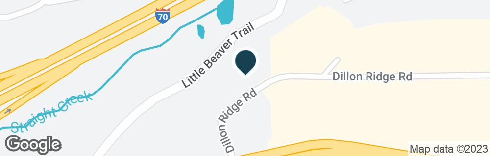 Google Map of269 DILLON RIDGE RD