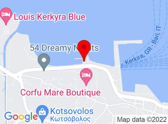 Google Map of Corfou