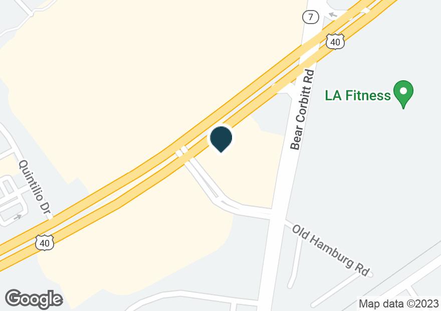 Google Map of1120 PULASKI HWY