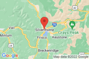 Map of Silverthorne