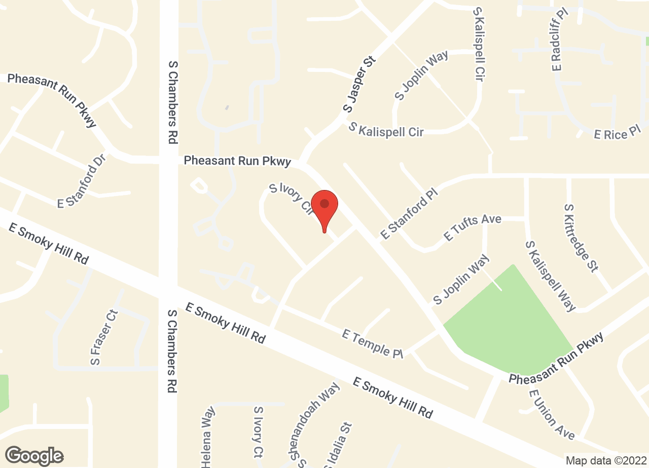 Google Map of VCA Smoky Hill Animal Hospital