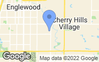 Map of Englewood, CO