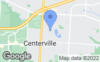 Map of Centerville, OH