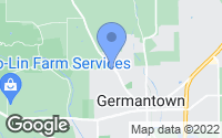Map of Germantown, OH