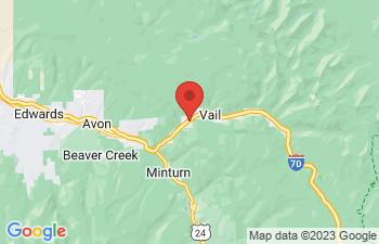 Map of Gore Creek