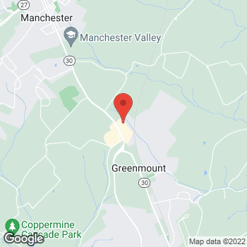 Map of Hair Cuttery at 2319 D Hanover Pike, Hampstead, MD 21074