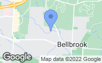 Map of Bellbrook, OH