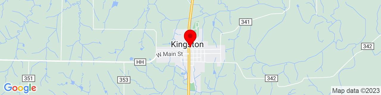 Google Map of 39.64417419999999, -94.0385517
