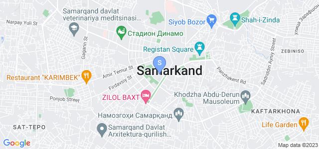 Location of Yangi Sharq on map