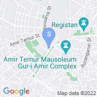 Location of Registan Plaza on map