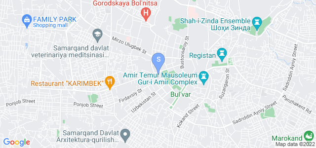 Location of Royal Palace on map