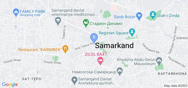 Расположение гостиницы Роял Палас на карте