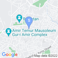 Location of Old City on map