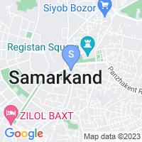 Location of Zarina on map