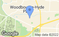 Map of Woodbourne-Hyde Park, OH